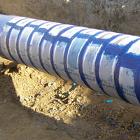 Composite Pipe Repair System by Darke Engineering, Peterborough