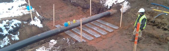 Project – Section 16 works: Protection of oil pipeline
