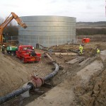 Installation of temporary pigging facilities