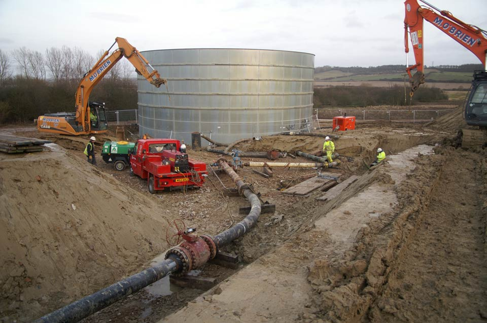 Installation of temporary pigging facilities