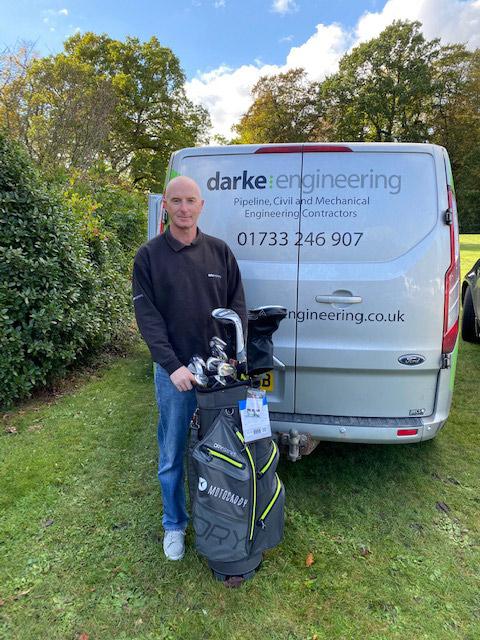 Shane Hodgson - 10 years of loyal service at Darke Engineering